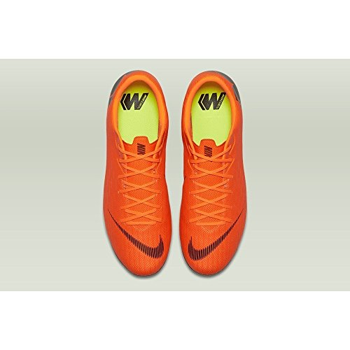 Fútbol Hombre Zapatillas Nike Academy Mercurial Vapor MG XII t para Black Total de Orange 810 Multicolor 0zn0px