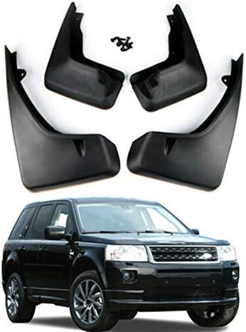 LBWNB 4Pcs Mudflaps Splash Guards Mud Flap Front Rear Accessories Fit for LR2 FREELANDER 2 2006-2012