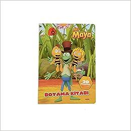 Arı Maya Boyama Kitabı Kolektif Amazoncomtr
