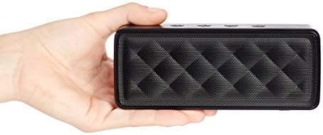 AmazonBasics Portable Wireless, 2.1 Bluetooth Speaker, Black 41kOhQbKKLL