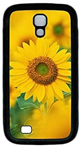 Samsung Galaxy S4 Case TPU Customized Unique Print Design Beautiful Sunflower 4 Case Cover For Samsung Galaxy S4