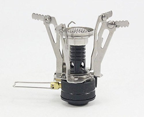 ELLEN Mini Outdoor Portable Camping Stoves Piezo Ignition