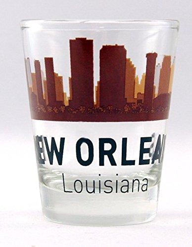 New Orleans Louisiana Sunset Skyline Shot - Orleans New Glasses