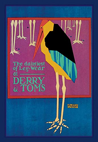 "Buyenlarge The Daintiest of Leg-Wear at Derry and Toms by F. Gregory Brown Wall Decal, 36"" H x 24"" W from Buyenlarge"