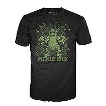 Funko Pop! Tees: Rick And Morty - Ricks Rat Party - Camiseta Varios Tamaños