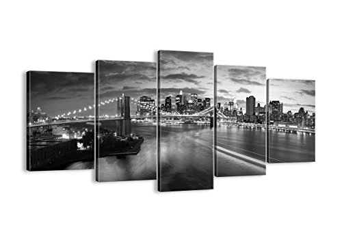 5 panel new york canvas - 2