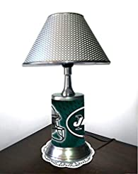 Rico Table Lamp with Shade, New York Jet...