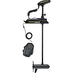 "Minnkota Terrova 55 AP Bowmount Trolling Motor with AutoPilot (55lbs Thrust, 48"" Shaft)"