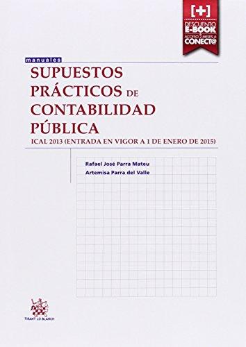 Descargar Libro Supuestos Prácticos De Contabilidad Pública Rafael José Parra Mateu