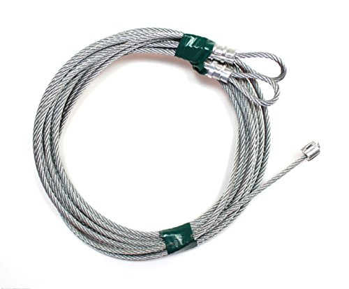 USA Premium Store Garage Door Cables for Torsion Spring Doors, 9', 10', 12', or 14' High Doors (14) by USA Premium Store