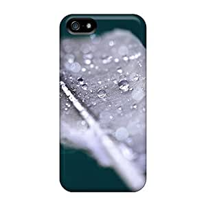 Wet Feather Fashion Tpu 5/5s Case Cover For Iphone