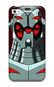Premium Durable Ultron Unlimited Emh Avengers Earths Mightiest Hero Robot Serie Animate Ilustration Sin Limites S Anime Cartoon Fashion Tpu Iphone 5c Protective Case Cover by supermalls
