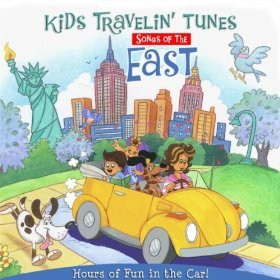 Kids Travelin' Tunes: Songs of the East Includes Coloring Pages to Print -