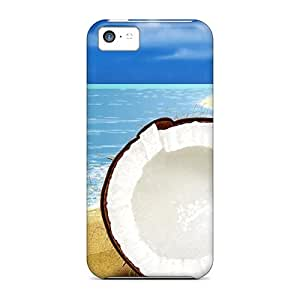 High-end Case Cover Protector For Iphone 5c(coconut Fantasy)