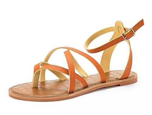 4b3086c11 DREAM PAIRS Women s Safari Flat Sandal