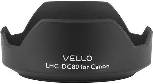 3 Pack Vello LH-DC80 Dedicated Lens Hood
