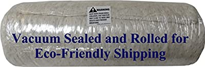 Snuggle-Pedic Ultra-Luxury Bamboo Shredded Memory Foam Pillow Combination | Kool-Flow Micro-Vented Cover | Certified USA Manufacturer | 90 Day Refund & Free Exchange Policy