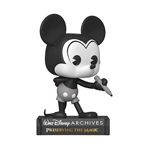 Funko- Pop Disney Archives-Mickey Mouse (B&W) Figura Coleccionable, Multicolor (49889)