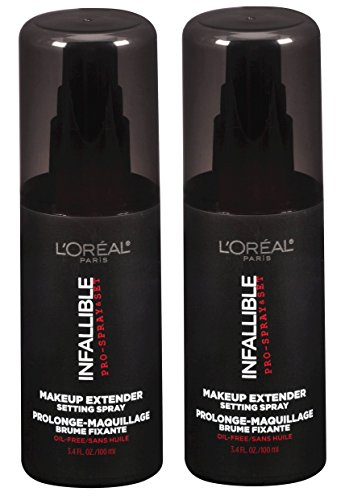 L'Oreal Paris Infallible Pro Makeup Extender Finishing Spray 3.4 Ounce - Pack of 2