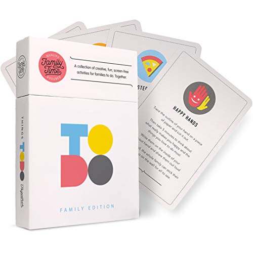 TODO Family Edition – Card Games for Kids and Parents   Creative, Fun, Screen-Free Activities for Families to do. Together. ()