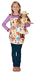 Girl & Doll Retro Cowgirl Aprons