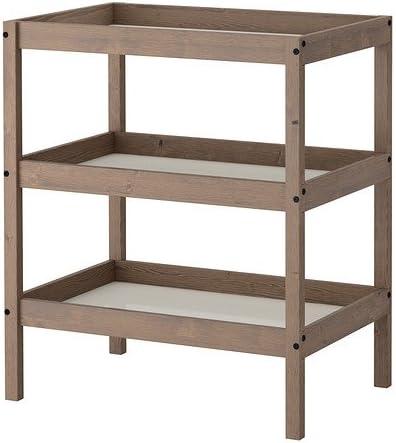 Ikea Sundvik Table A Langer Gris Brun Amazon Fr Cuisine Maison