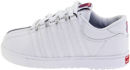 019794a8d4cb1 K-Swiss 201 Classic Tennis Shoe (Infant/Toddler),White,9.5 W US ...