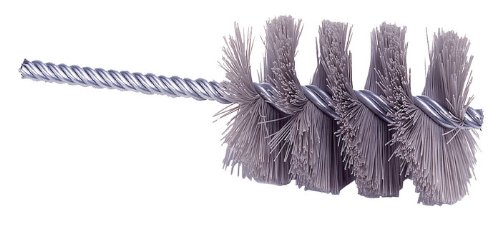Weiler Silicon Carbide Single Spiral Tube Brush - 5 1/2 in Length - 1 3/4 in Dia - 0.035 in Bristle Dia - 21312 [PRICE is per BRUSH] by Weiler (Image #1)