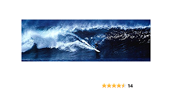 POSTER PRINT PHOTO SPORT LEISURE SURF SURFER SURFING GIANT OCEAN SEA WAVE SEB387