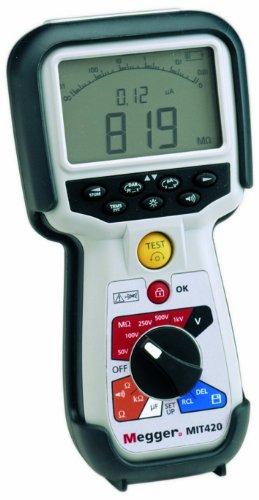Megger MIT430-EN Insulation Tester, 200 Gigaohms Resistan...