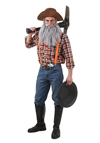 Fun Costumes Adult Prospector Costume X-Large