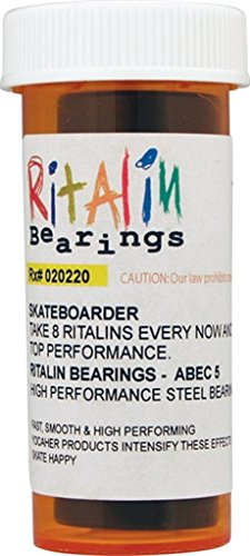 Ritalin Abec-5 Blue Bearings - Single Set