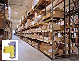 Republic Storage Systems, 3N 14 Ga. Upright Frames, H603530, Cap. (Lbs.): 24,300, Size D X H: 36'' X 16', Wt. (Lbs.): 100.5, Color: Tan, 603530