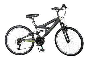 "24"" Next PX 4.0 Boys\' Mountain Bike, Black"