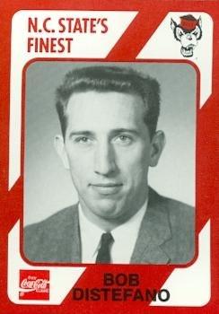 (Bob Distefano Basketball Card (N.C. North Carolina State) 1989 Collegiate Collection #82)