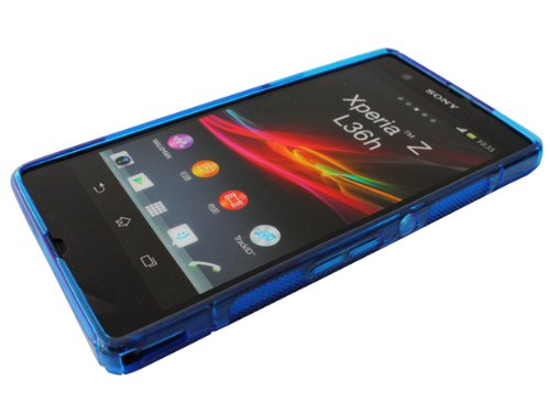 avci Base 4260344981250S-Line Coque de protection pour Sony Xperia Z bleu