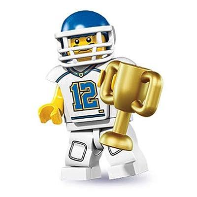 LEGO Minifigures Series 8 - Football Player: Toys & Games