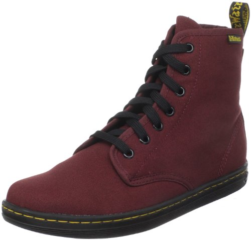 Dr. Martens Women's Shoreditch Boot,Cherry Red Rouge,3 UK