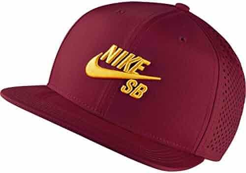 9b61ec109b7 Nike SB Performance Trucker Dri-Fit Hat 629243 - Team Red University Gold
