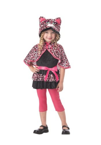 California Costumes Cutesy Kitty Toddler Costume, 4-6 (Pink Cat Halloween Costume Toddler)