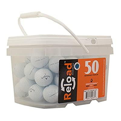 Callaway Chrome Soft Refinished Golf Balls (50 Pack)