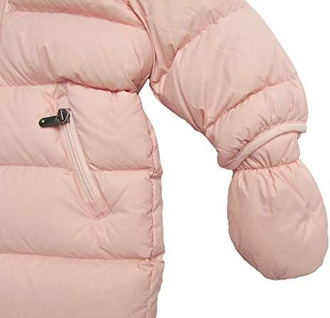 Eddie Pen Mellow Baby Daunen Schneeanzug mit Fellkranz