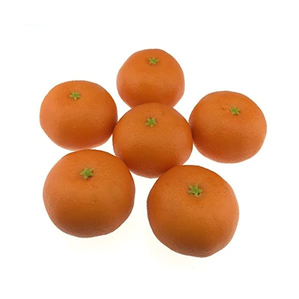 Gresorth-6pcs-Artificial-Orange-Decoration-Fake-Tangerine-Fruit-Home-House-Kitchen-Table-Food-Show-Model