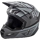 Fly Racing Matte Grey-Black 2018 Elite Guild Mx Helmet (S , Grey)
