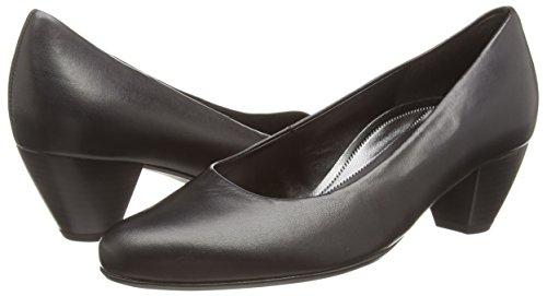 Gaborwhitiker Con Tacco Donna Leather Scarpe black Nero z1aqZx
