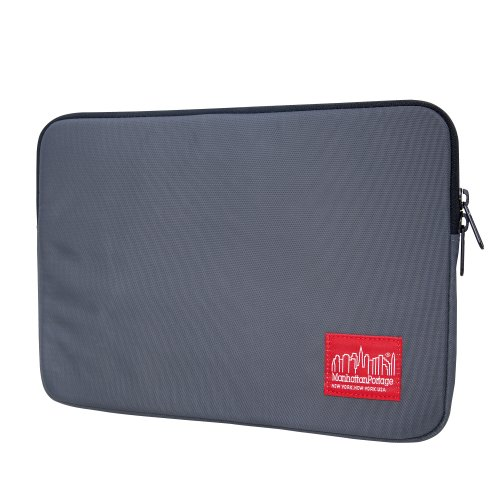 1033 Notebook (Manhattan Portage Nylon Laptop Sleeve (Gray, 15-Inch))