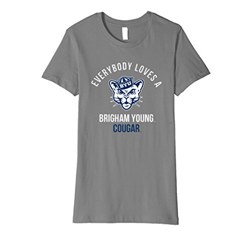 - Womens BYU Cougars Brigham Young NCAA Women's T-Shirt RYLBYU15