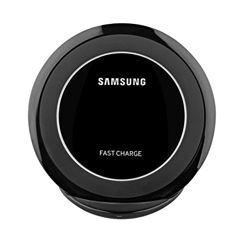 Samsung Fast Charge Wireless Charging Stand for QI Enabled Devices - Black (Certified Refurbished) (With / AFC Wall Charger)