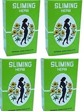 200 tea bags German Herb Slimming fit Sliming weight reduction detox laxative ()