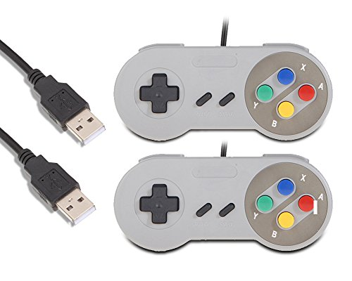 LoveRPi USB Gamepad Set for RetroPie and SNES Emulators